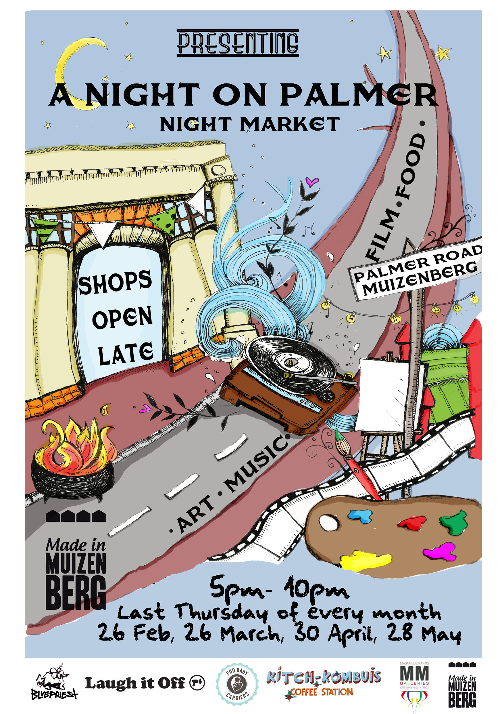 Palmer Night Market Feb15