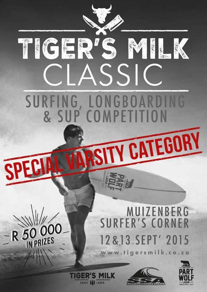 Tigers Milk Beach Competition